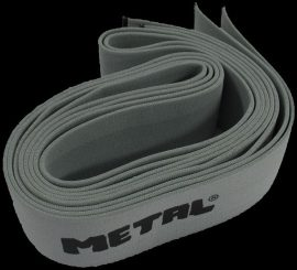 METAL SILVER KNEE WRAPS - IPF