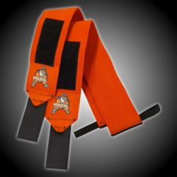 METAL Orange Wrist Wraps 100 cm
