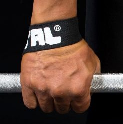 METAL Black lifting straps