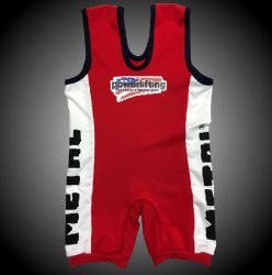 METAL Powerlifting  Singlet (IPF approved)
